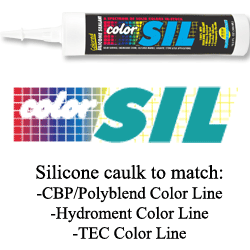 Color Sil Silicone Colored Caulkign by Color Rite