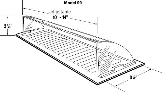 Air Deflector for Floor Registers