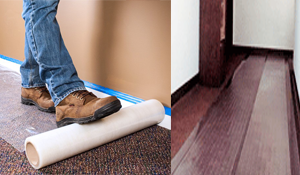 Carpet Shield - Temporary Floor Protection Carpet Cover