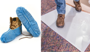 Miscellaneous Floor Protection - Disposible Shoe Covers Sticky Mat