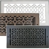 Decorative Solid Wall Registers - Design Wall Vents