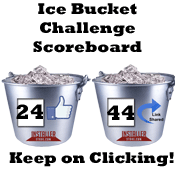 Installerstore Ice Bucket Challenge Scoreboad