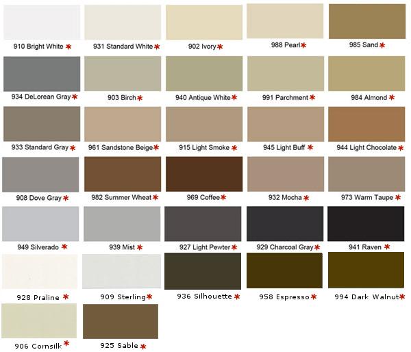 Color Rite Silicone Caulking to Match TEC Color Line
