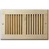 Unfinished Wood Register